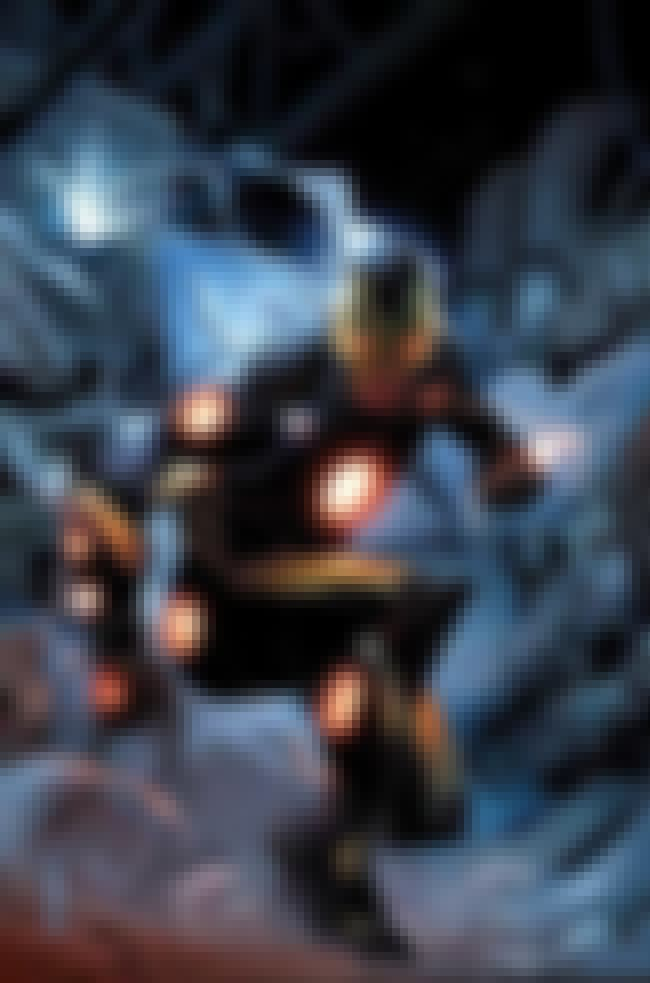 Black and Gold Armor is listed (or ranked) 4 on the list The Greatest Iron Man Armor of All Time