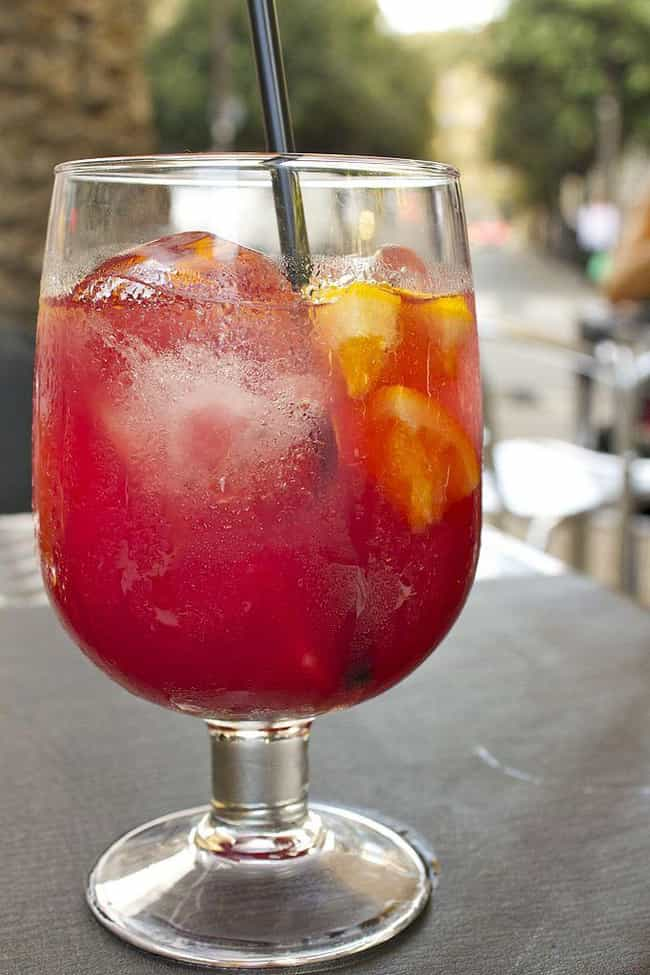 Spain: Sangria is listed (or ranked) 2 on the list Cocktails from Around the World