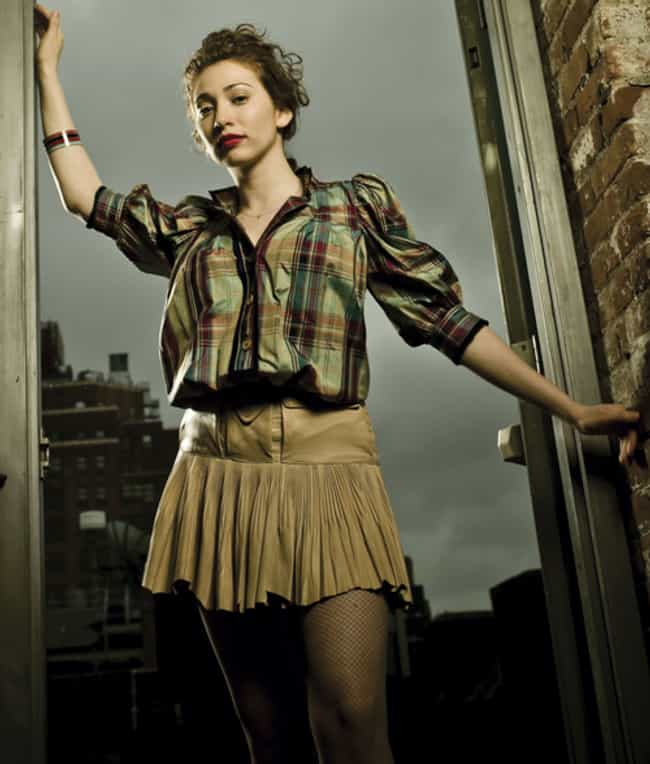 Regina Spektor in a Pleated Be... is listed (or ranked) 4 on the list The Most Stunning Regina Spektor Photos