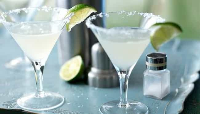 Mexico: Margarita is listed (or ranked) 3 on the list Cocktails from Around the World