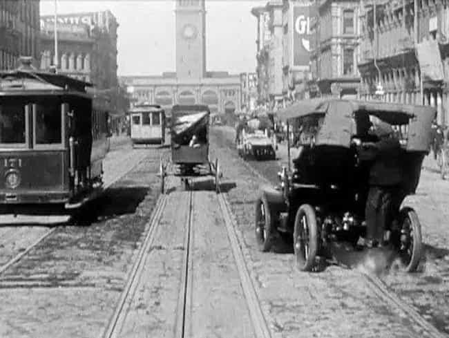 Market Street, 1906 is listed (or ranked) 2 on the list 18 Astonishing Photos of San Francisco History
