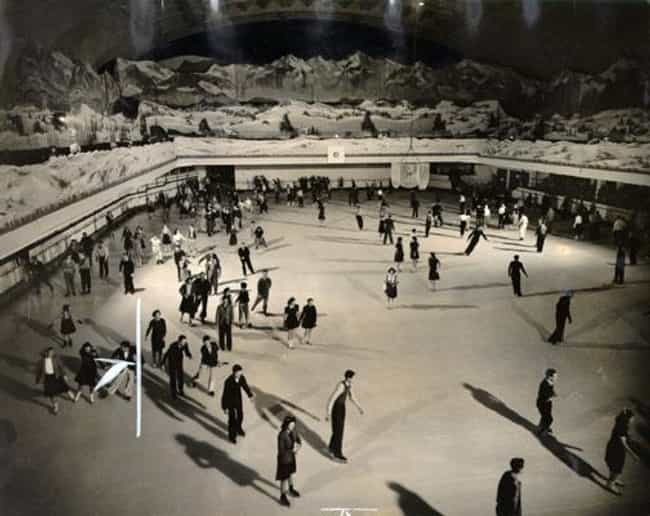 Ice Skating, 1940 is listed (or ranked) 3 on the list 18 Astonishing Photos of San Francisco History