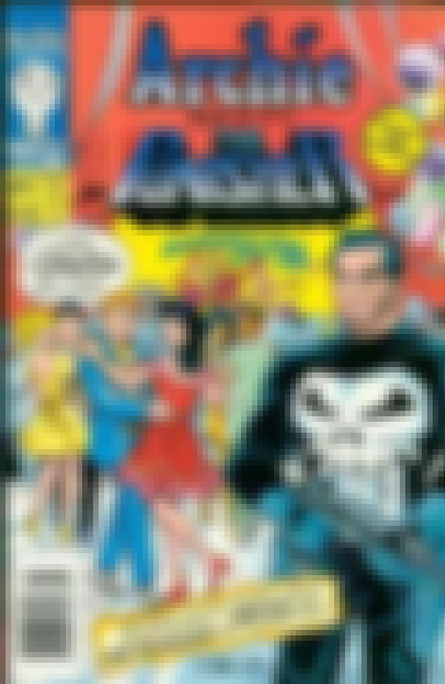 Archie Meets the Punisher is listed (or ranked) 1 on the list 7 Weird Comic Book Crossovers