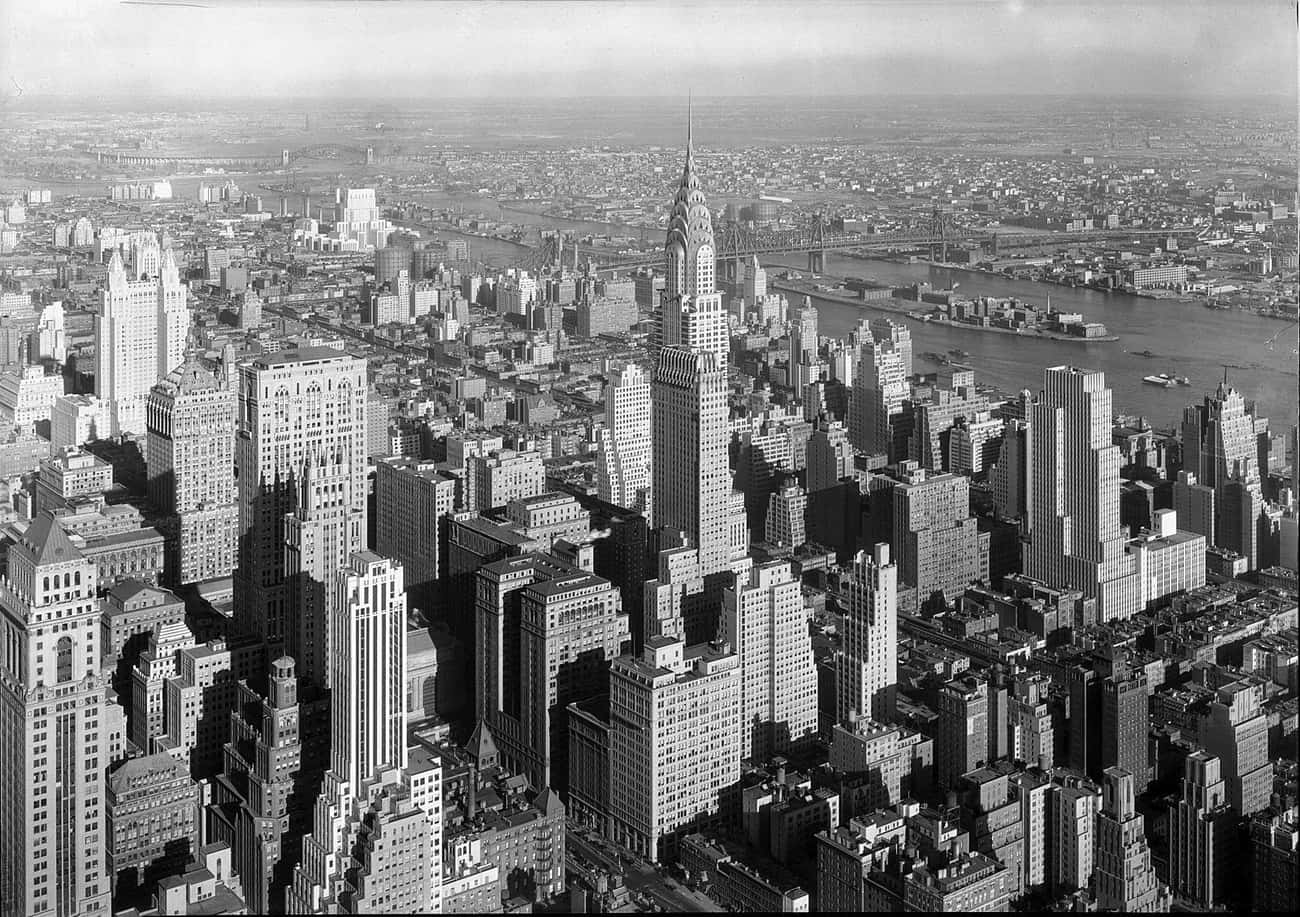Chrysler Building, 1932 is listed (or ranked) 2 on the list 15 Beautiful Old New York Photos