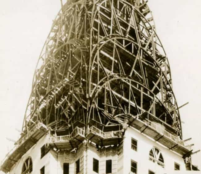 Chrysler Under Construction, 1... is listed (or ranked) 4 on the list 40 Beautiful Old New York Photos