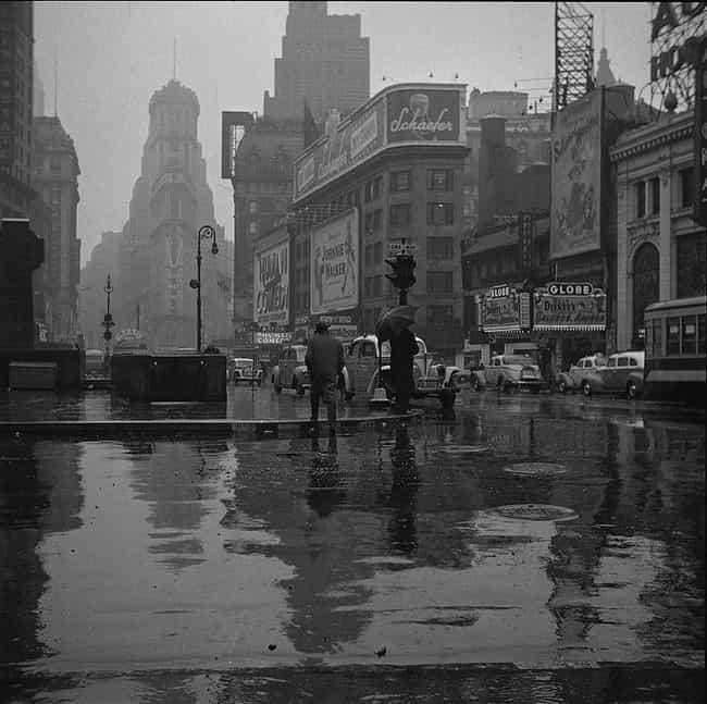 Times Square, 1949 is listed (or ranked) 3 on the list 16 Beautiful Old New York Photos