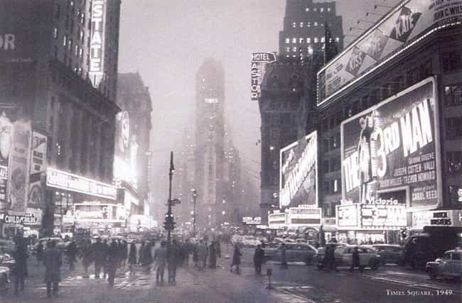 Times Square, 1949 is listed (or ranked) 2 on the list 40 Beautiful Old New York Photos