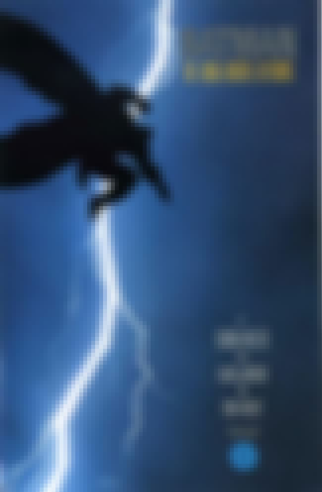 The Dark Knight Returns #1 is listed (or ranked) 2 on the list The 100 Greatest Comic Book Covers of the 1980s