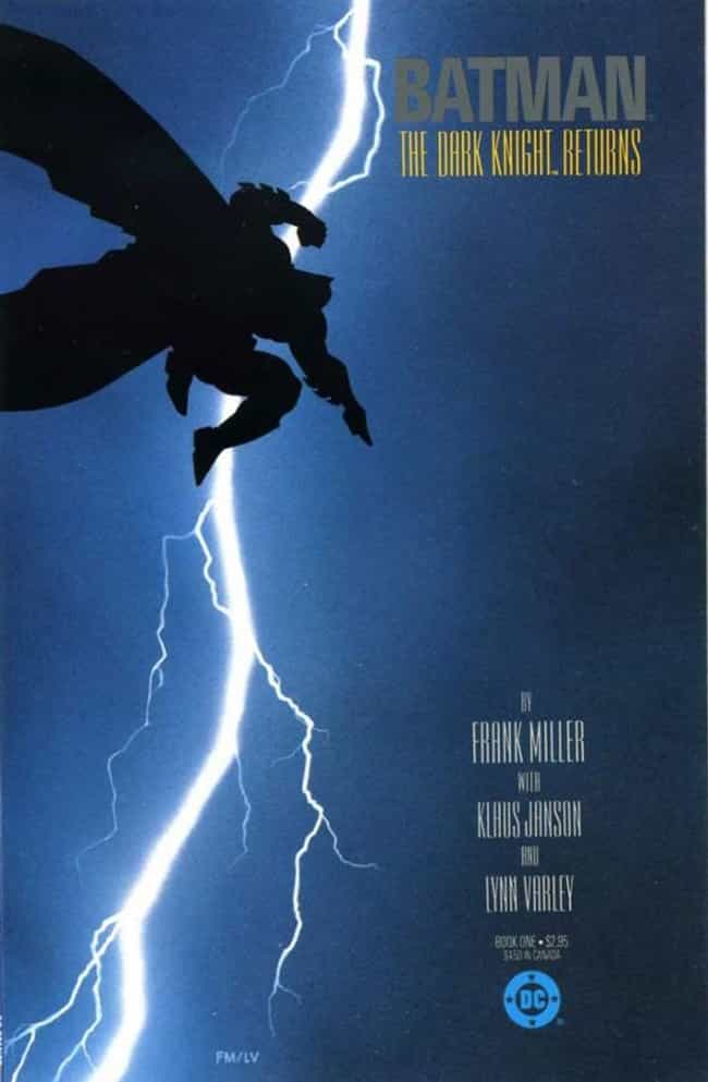 The Dark Knight Returns ... is listed (or ranked) 2 on the list The 100 Greatest Comic Book Covers of the 1980s