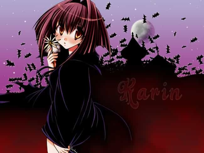 Vampire Karin is listed (or ranked) 8 on the list The Most Popular Female Vampires in Anime