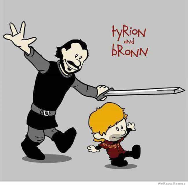 Calvin & Hobbes is listed (or ranked) 2 on the list 40+ Epic Game of Thrones Mashups You Didn't Know You Needed