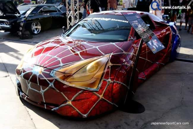 Spidey-Celica is listed (or ranked) 2 on the list The 16 Coolest Superhero Themed Vehicles