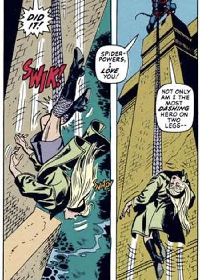 The Death of Gwen Stacy ... is listed (or ranked) 3 on the list The Most Shocking Moments and Deaths in Comics