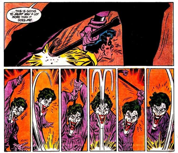 Joker Beats Robin to Death