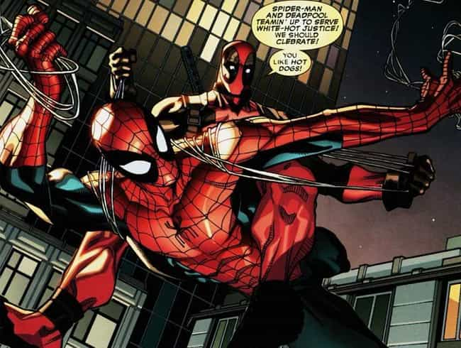 Deadpool and Spider-Man is listed (or ranked) 1 on the list The Best Team-Ups in Comics