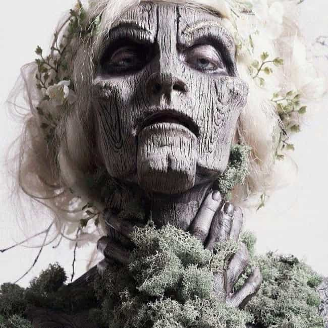 Wooden Doll is listed (or ranked) 1 on the list 30+ Special Effects Makeup Transformations