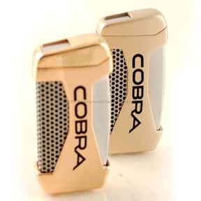 Cobra is listed (or ranked) 25 on the list The Best Lighter Brands