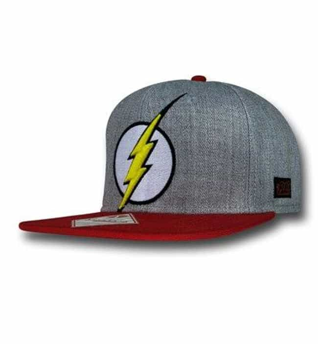 Flash Flat Bill Cap is listed (or ranked) 3 on the list The Best DC Comics Wearables
