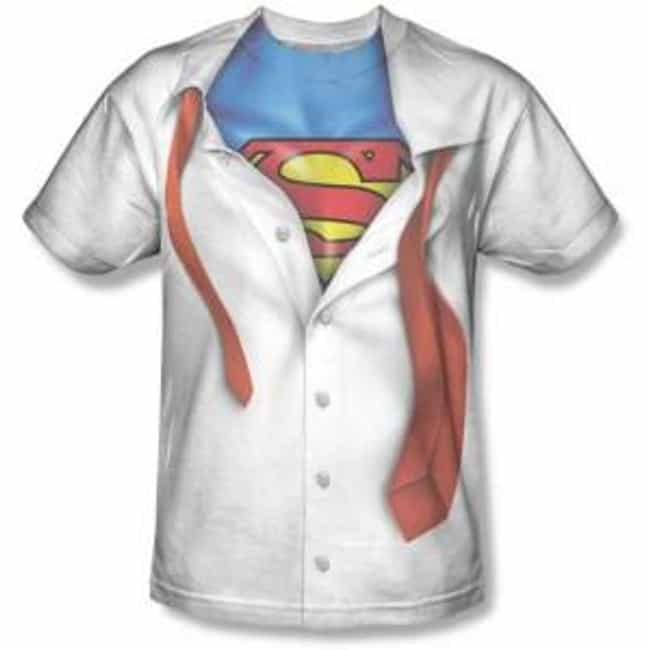 Clark Kent Tee Shirt is listed (or ranked) 1 on the list The Best DC Comics Wearables