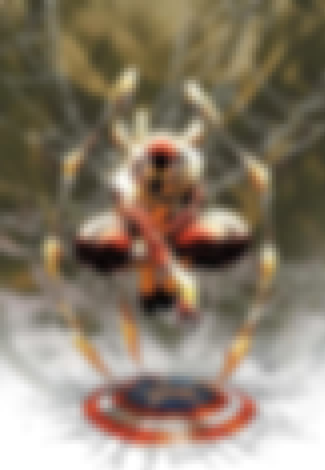 Iron Spider - Spider-Man is listed (or ranked) 8 on the list The Best Alternate Costumes in Marvel Comics