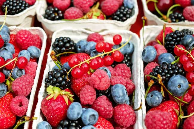 Eat Berries is listed (or ranked) 3 on the list The Best Ways to Lose Belly Fat