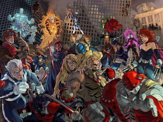Age of Apocalypse is listed (or ranked) 1 on the list Marvel's Best Alternate Universes & Timelines