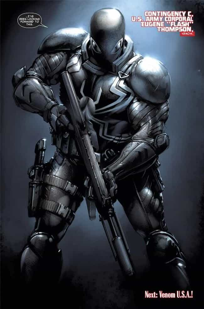 Agent Venom is listed (or ranked) 4 on the list The Best Alternate Costumes in Marvel Comics