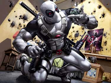 X-Force - Deadpool is listed (or ranked) 2 on the list The Best Alternate Costumes in Marvel Comics