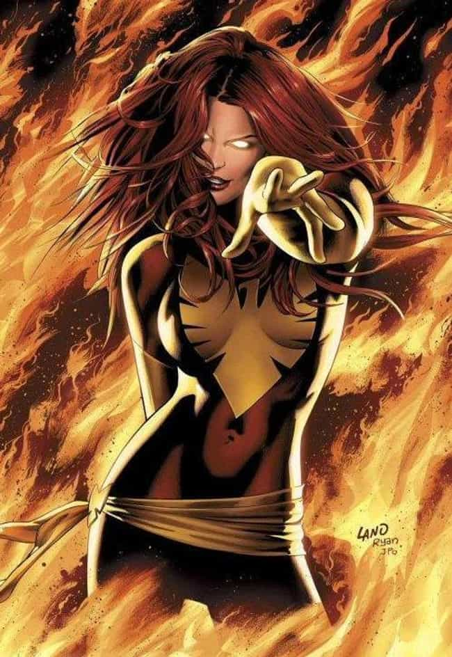 Dark Pheonix - Jean Grey is listed (or ranked) 4 on the list The Best Alternate Costumes in Marvel Comics