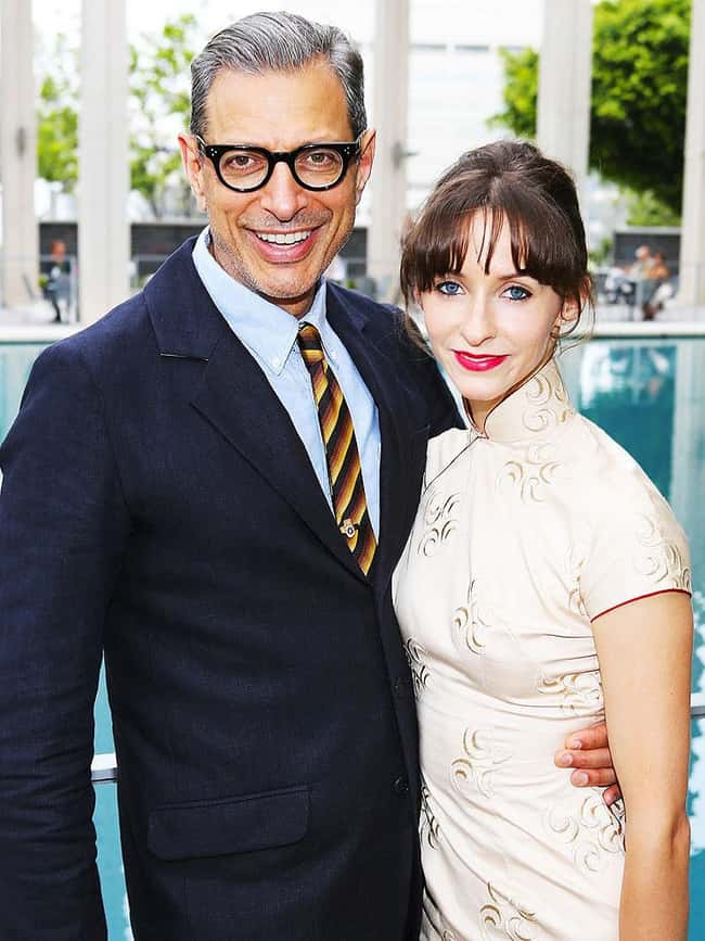 Jeff Goldblum and Emilie Livin is listed (or ranked) 13 on the list 48 Famous Couples with Huge Age Differences