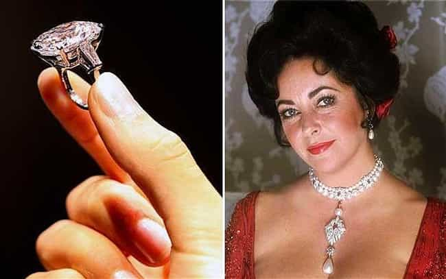 Liz Taylor's Jewels is listed (or ranked) 4 on the list The Most Expensive Pop Culture Memorabilia Sold at Auction