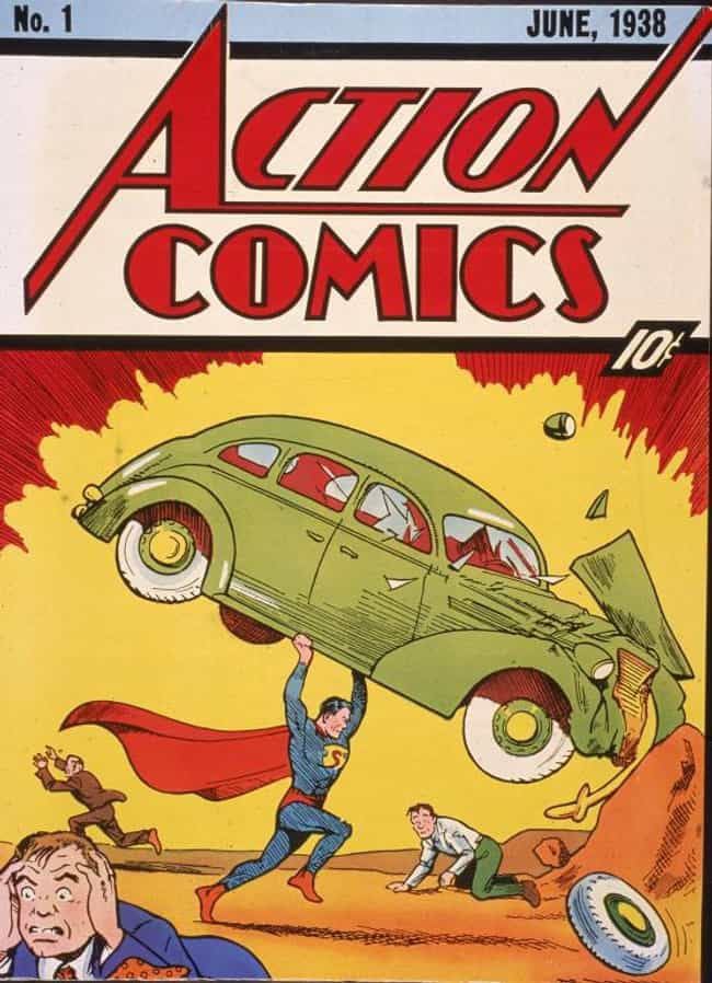 Superman's Debut Comic Boo... is listed (or ranked) 2 on the list The Most Expensive Pop Culture Memorabilia Sold at Auction