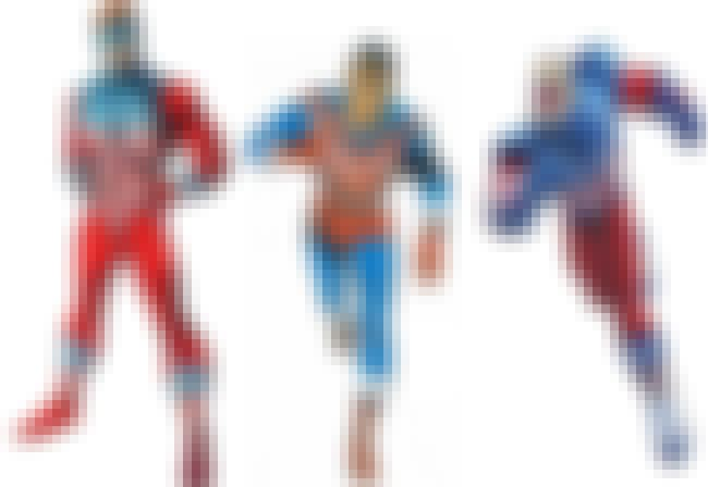 The Shield is listed (or ranked) 4 on the list The Most Patriotic Superheroes of the World