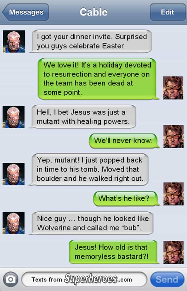 Mystery Solved is listed (or ranked) 2 on the list The Best Texts from Superheroes