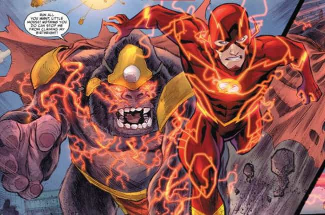 New 52 Flash is listed (or ranked) 4 on the list The Best Alternate Costumes in DC Comics