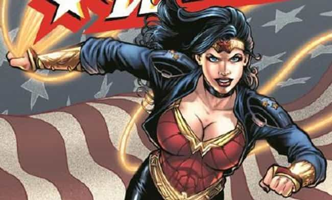 Leather Jacket Wonder Woman is listed (or ranked) 4 on the list The Best Alternate Costumes in DC Comics