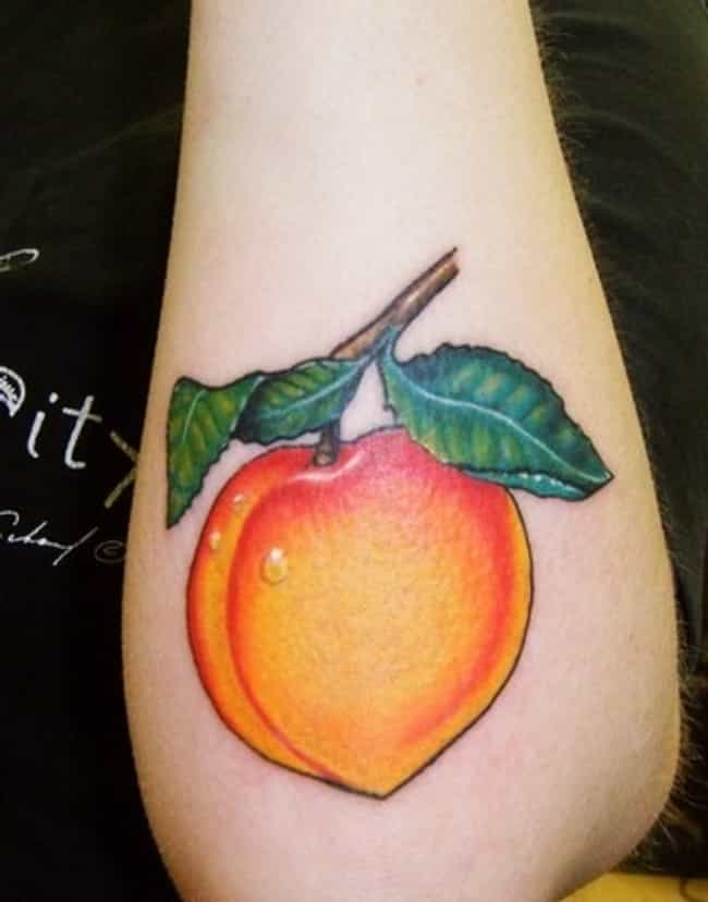 Well That's Peachy is listed (or ranked) 2 on the list The 35 Most Delicious Food Tattoos