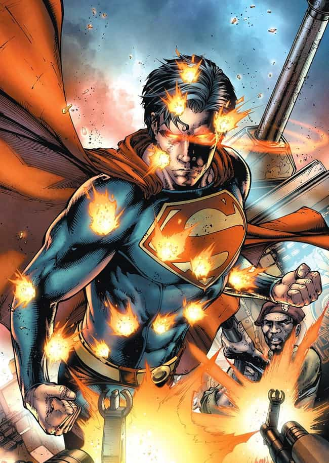 Invulnerability is listed (or ranked) 1 on the list All Superman's Awesome and Absurd Superpowers
