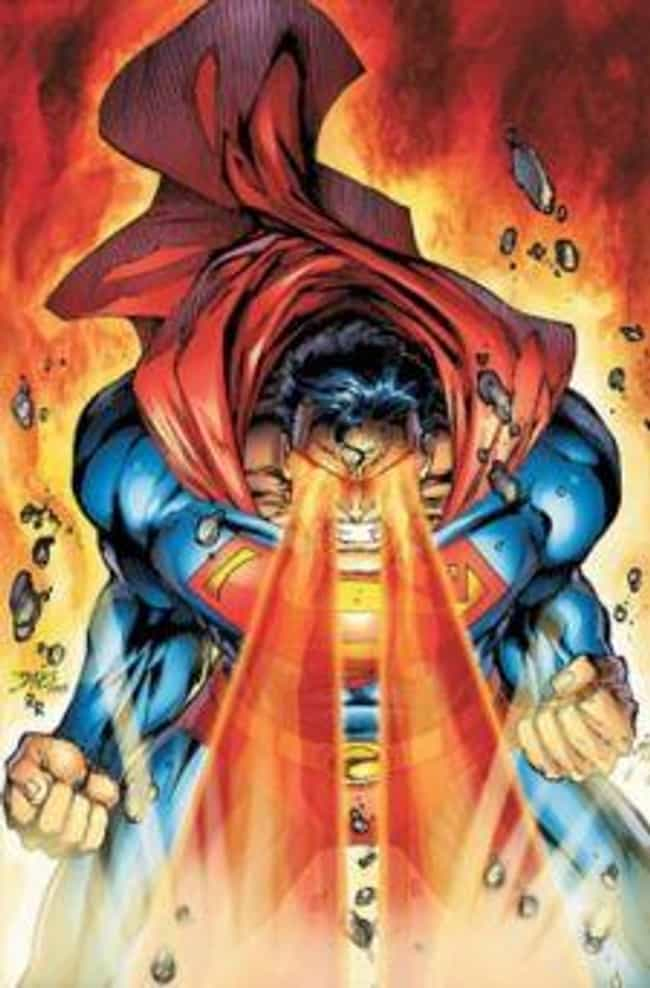 Heat Vision is listed (or ranked) 4 on the list All Superman's Awesome and Absurd Superpowers