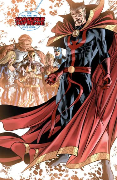 Sorcerer Supreme Once More is listed (or ranked) 2 on the list Doctor Strange Stories to Read Before You See the Movie