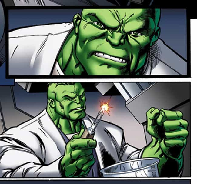 Hulk Is Super Smart is listed (or ranked) 4 on the list The 18 Most Random Character Changes in Marvel Comics