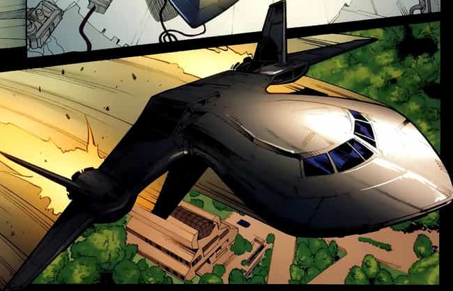 The Blackbird is listed (or ranked) 2 on the list The Best and Worst Vehicles in Marvel Comics
