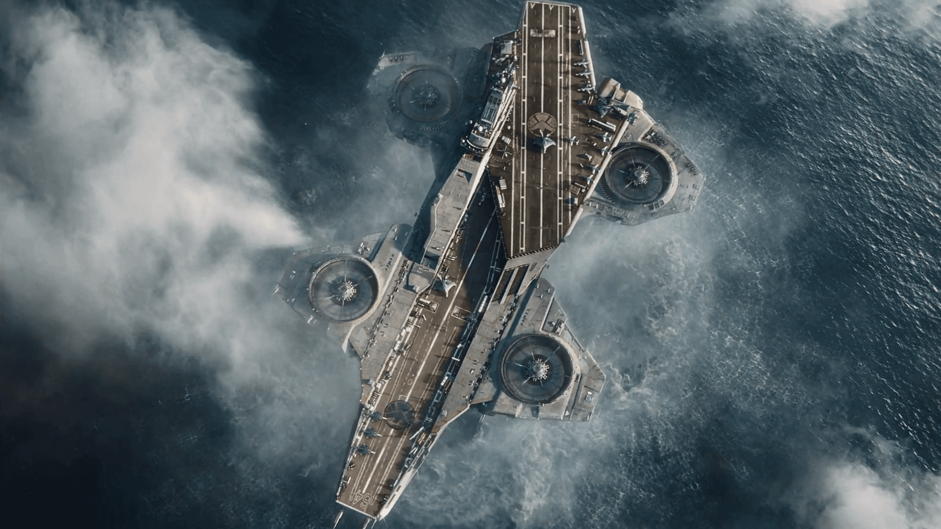 S.H.I.E.L.D. Helicarrier on Random Best and Worst Vehicles in Marvel Comics