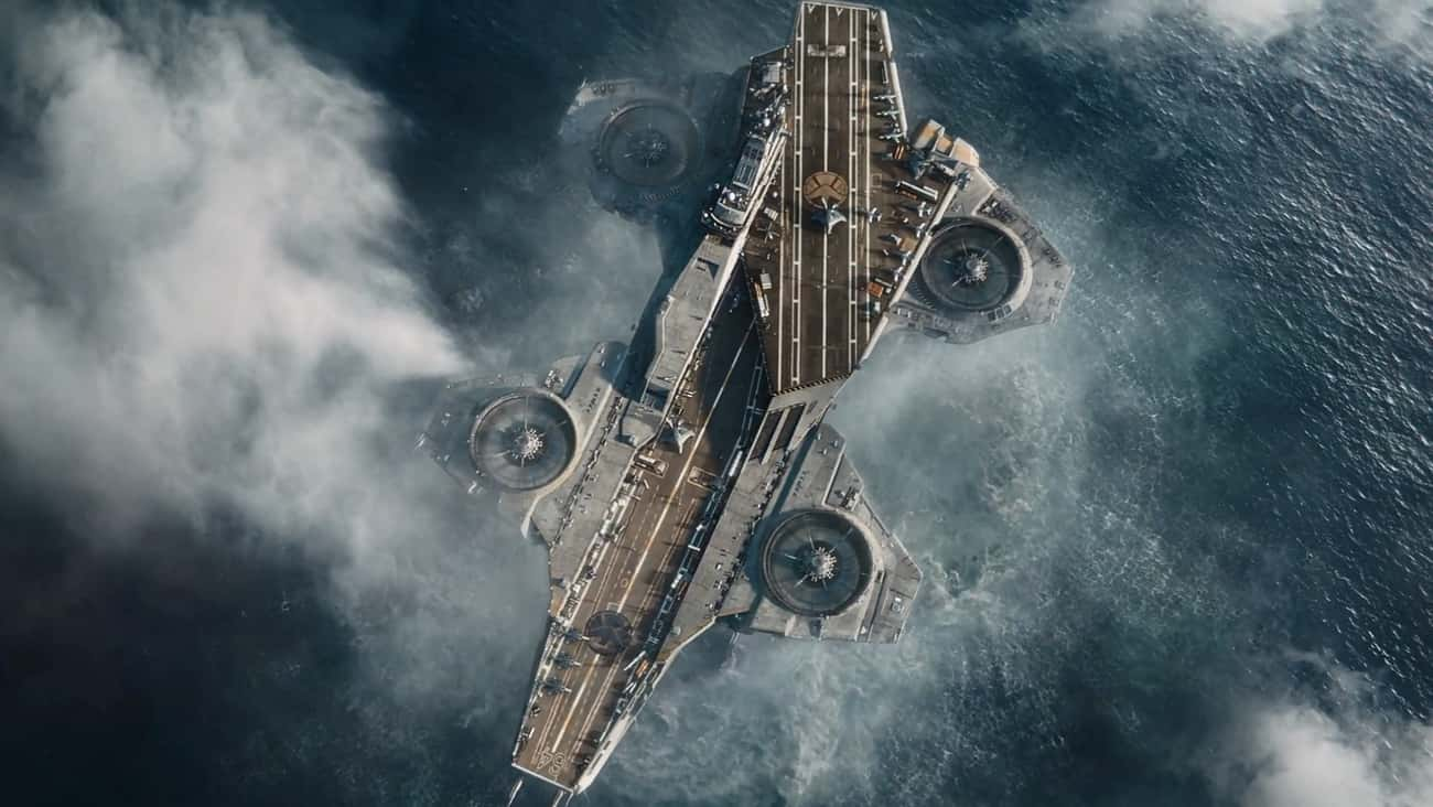 S.H.I.E.L.D. Helicarrier is listed (or ranked) 3 on the list The Best and Worst Vehicles in Marvel Comics