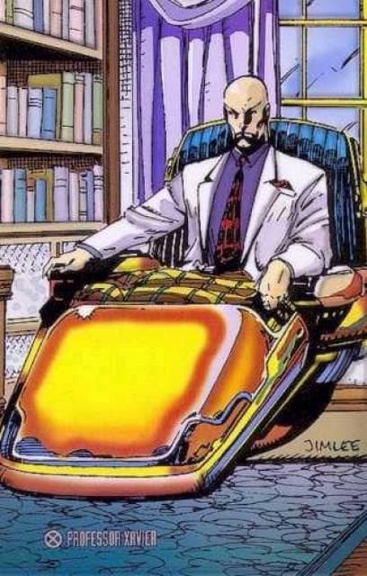Xaviers Sweet Hover Chair on Random Best and Worst Vehicles in Marvel Comics