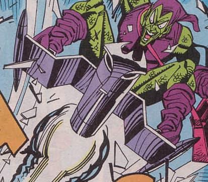 Goblin Glider on Random Best and Worst Vehicles in Marvel Comics