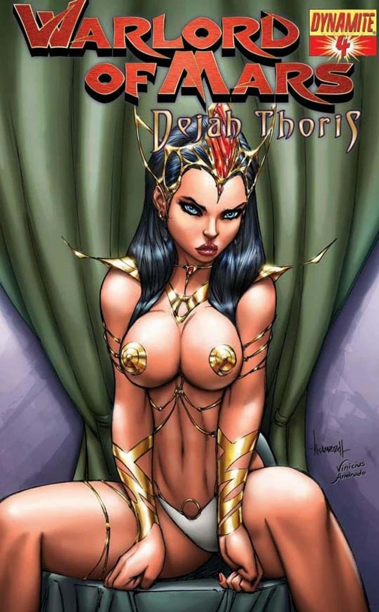 Dejah Thoris is listed (or ranked) 2 on the list The Most RevealingSuperheroine Costumes In Comics