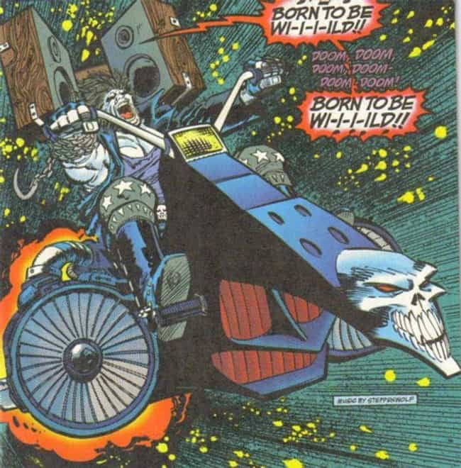 Lobo's Space Hog is listed (or ranked) 3 on the list The Best and Worst Vehicles in DC Comics