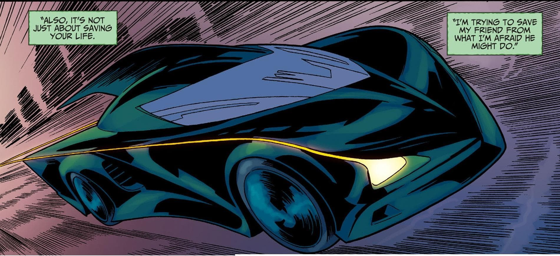 Arrowcar on Random Best and Worst Vehicles in DC Comics