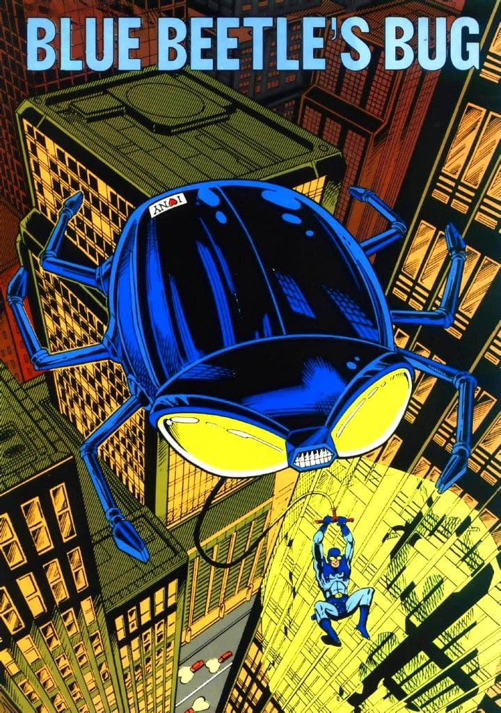 Blue Beetles Bug on Random Best and Worst Vehicles in DC Comics